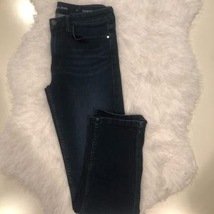 Calvin Klein girlfriend jeans